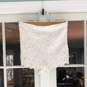 Free People Lace Shorts